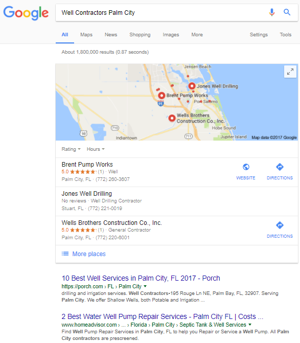 How a Website Works for Google Page 1 Ranking in Port St Luice Stuart Vero Beach