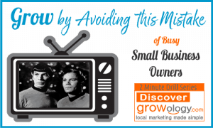 Grow by Avoiding this Mistake of Busy Small Business Owners